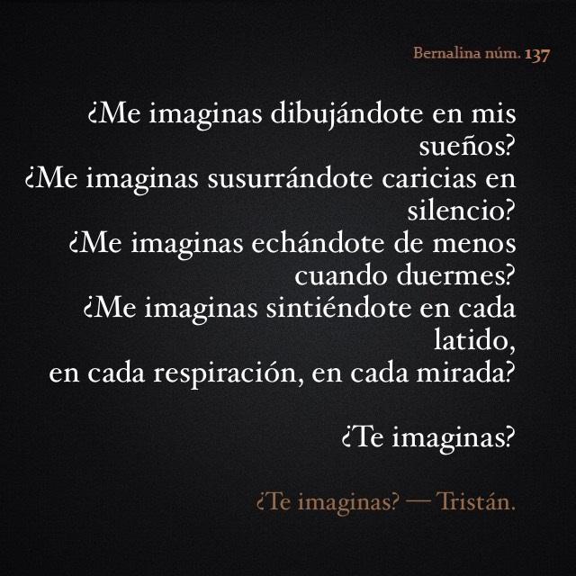 137. Te imaginas